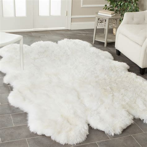 faux rugs faux fur rug ikea rugs ideas