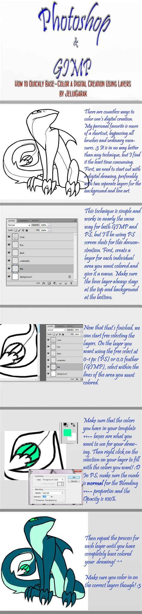 tutorial gimp painting ps gimp tutorial digital color by bejuled on deviantart