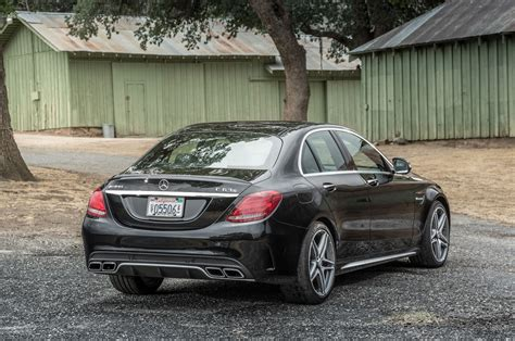 2015 mercedes amg c63 s review test motor trend