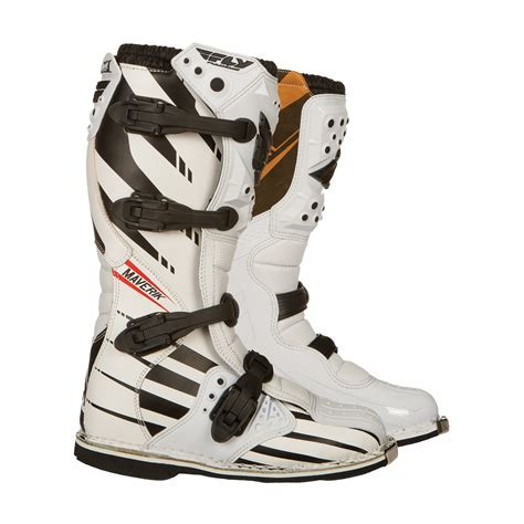motocross boots ebay fly racing youth maverik f4 mx kids childrens junior