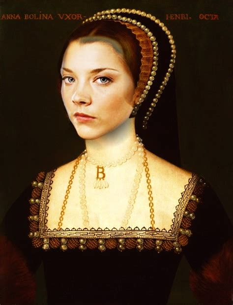 natalie dormer as boleyn natalie dormer as boleyn portrait a continuation
