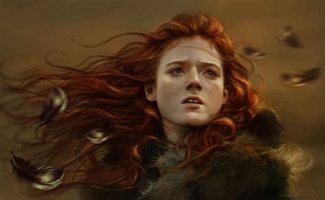 drawing game of thrones arya sansa catelyn ygritte game of thrones concept art and illustrations i concept