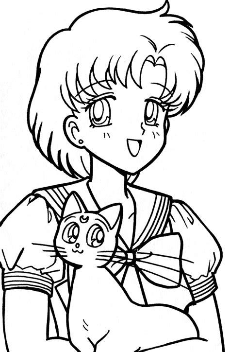 free coloring pages of mercury sailor