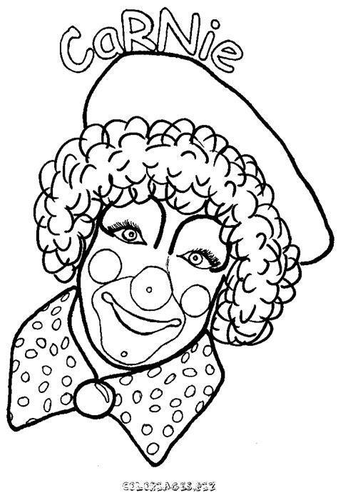 Coloriage La Tete De Clown 224 Colorier Gratuit H 233 Ros