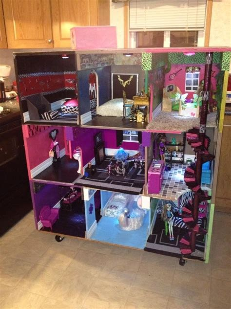 monster high dolls house tour monster high house monster high dolls com