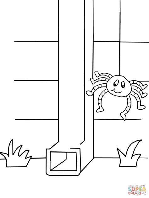 Itsy Bitsy Spider Coloring Page Itsy Bitsy Spider Coloring Page Free Printable Coloring