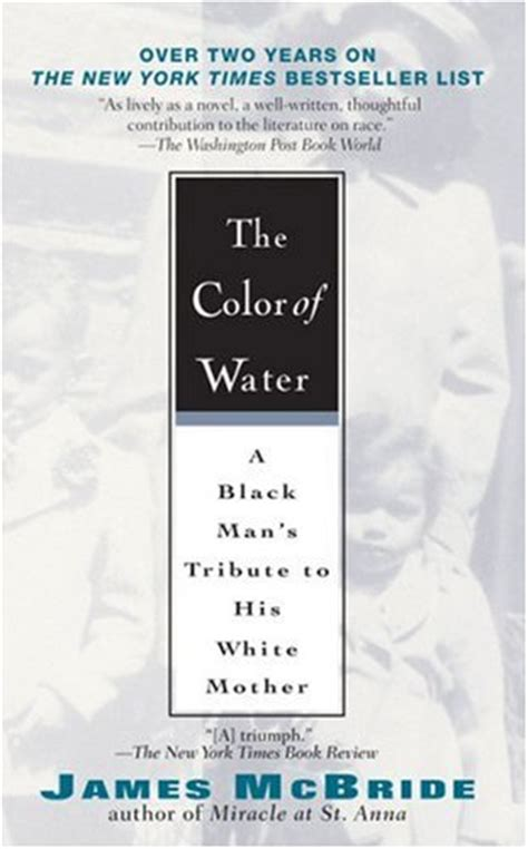 Tia S Book Musings Quot The Color Of Water Quot By James Mcbride The Color Of Water Book