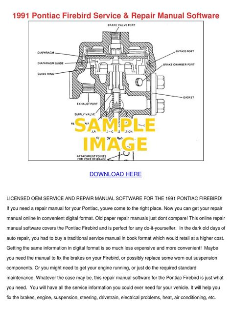 small engine repair manuals free download 1991 pontiac 6000 free book repair manuals 1991 pontiac firebird service repair manual s by pattyoswald issuu