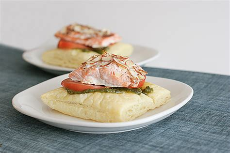 Reader Recipe Salmon With Puff Pastry And Pesto by Salmon With Puff Pastry And Pesto Www Tasteandtellblog