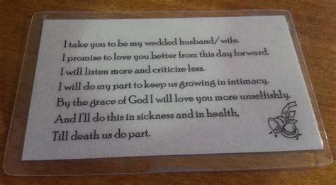 Wedding Vows In Sickness by Vikki Huisman A Work In Progress