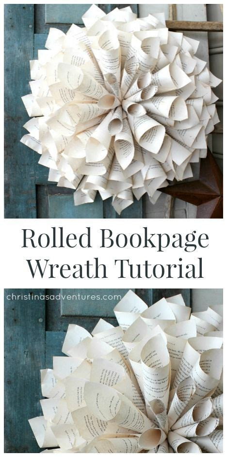 rolled paper flower wreath tutorial the 25 best ideas about rolled paper wreath on pinterest