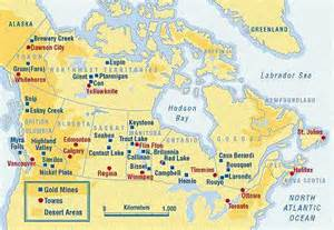 mines in canada map canadian gold miner reports high gold grade of 240 g t au