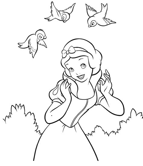 disney princess coloring pages snow white snow white colouring pages disney princesses