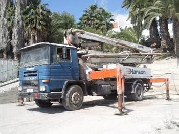 swing shutter concrete pump iveco swing 28 m concrete pump from spain for sale at