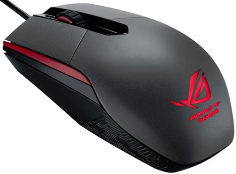 Mouse Asus Rog asus rog sica cuts the gaming mouse to the bare