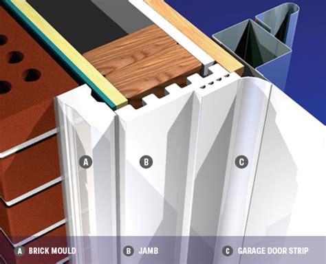 Garage Door Vinyl Trim by Garage Door Stop Banner 1