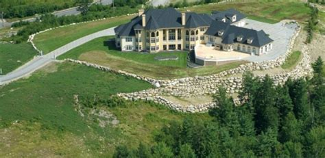 Home Plans With Indoor Pool hilltop mansion in new boston nh homes of the rich