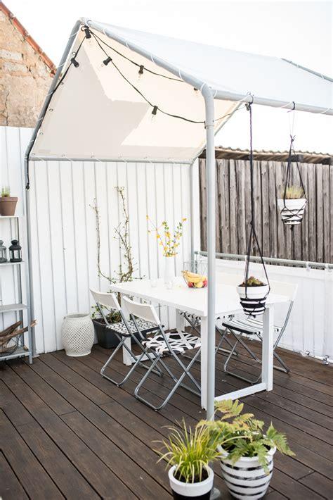 kleine pavillons ein haus auf dem balkon leelah