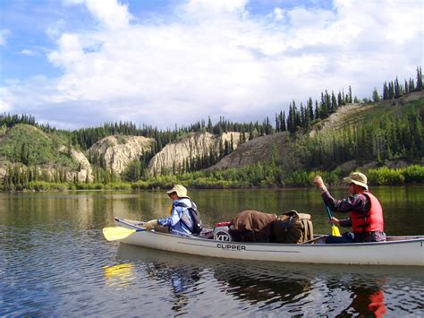 yukon canoes yukon territory big salmon river canoe wilderness inquiry