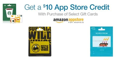 Amazon App Store Gift Card - amazon get 10 app store credit with select gift card purchase my frugal adventures
