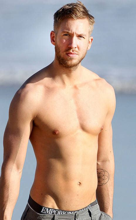calvin haris calvin harris sexy shirtless body is on full display at