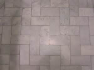 subway tile on bathroom floor a better bathroom homemade handmade