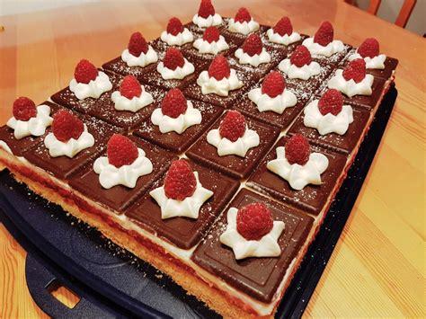 himbeer keks kuchen himbeer keks schnitten monirigatoni chefkoch de