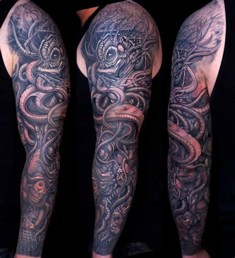kraken tattoo 51 kraken attractive shoulder tattoos
