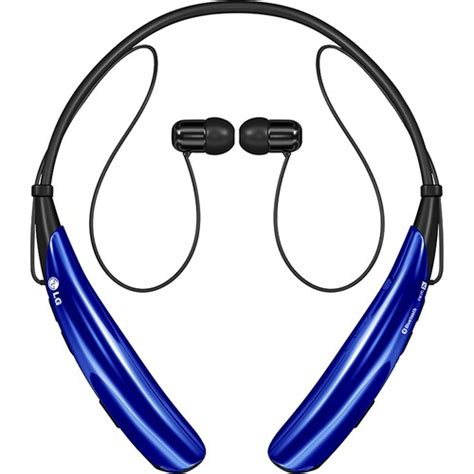 Headset Bluetooth Lg Tone lg tone pro wireless headphones blue hbs 750 acbyblk best buy