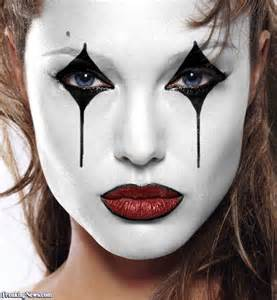 best halloween white face paint celebrity mimes pictures gallery freaking news