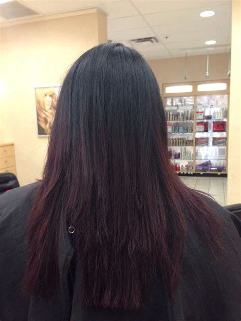 hair clients ombre pictures my clients hair i had done the other day wanted dark brown