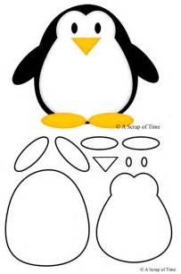 Penguin Template by Felt Penguin Pattern Scan N Cut Artesanato