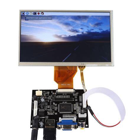 Monitor Lcd Hdmi 7 Inch Tft Lcd Monitor For Raspberry Pi Touch Screen Driver Board Hdmi Vga 2av 3d Printing