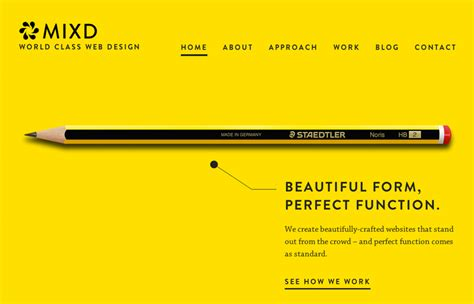 Web Design Inspiration Yellow | website design inspiration featuring the color yellow