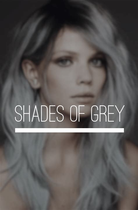 gray hair color shades different colors of grey