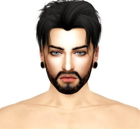 sims 4 cc guys hair spring4sims johan male sims for the sims 4