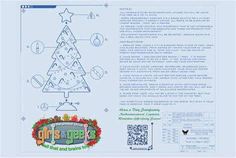 how to engineer a christmas tree