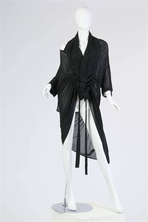 Wst 6233 Mesh Cut Out Dress Black Size M L yohji yamamoto y s convertible shirt dress at 1stdibs