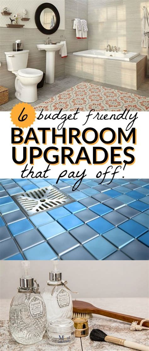 bathroom upgrade cost spruce up your home 6 budget bathroom upgrades that pay off