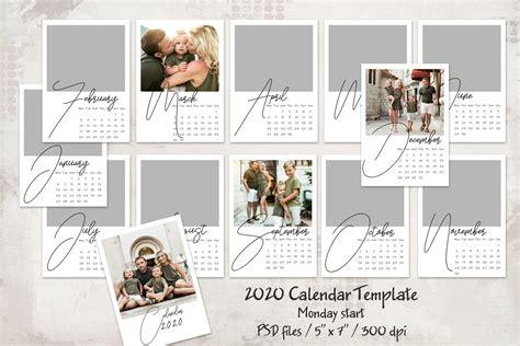 calendar template monday start  mrlightroom premium lightroom presets photoshop