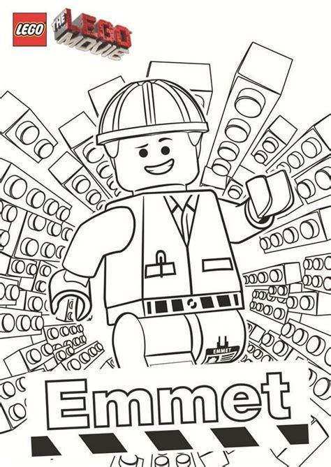 lego birthday coloring page coloring page lego movie emmet f 228 rgl 228 ggningsbilder