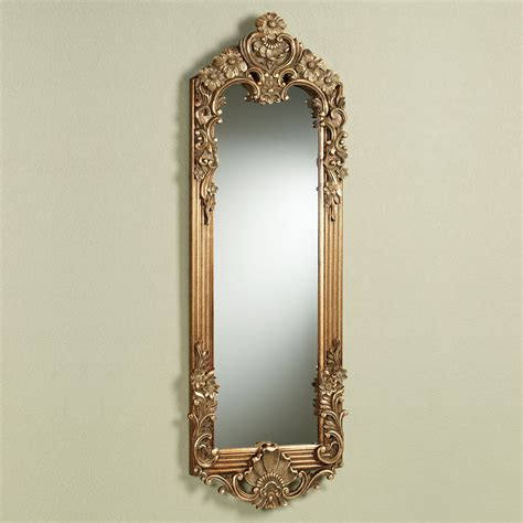 wall mirrors gadsden gold large floral wall mirror panel