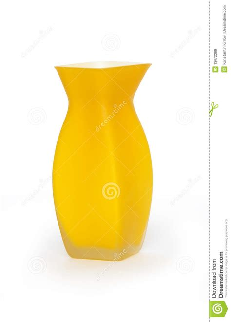 Modern Yellow Vase Modern Vase Royalty Free Stock Images Image 13072369