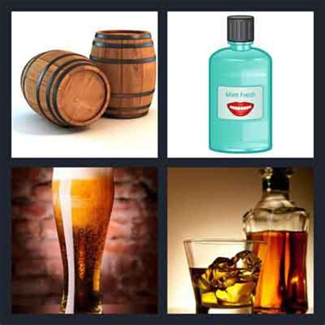 4 Letter Words Out Of Liquor 7 letters 4 pics 1 word answers what s the word