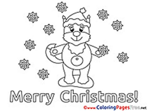 christmas fox coloring page christmas coloring sheets