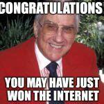 Ed Mcmahon Sweepstakes - ed mcmahon meme generator imgflip