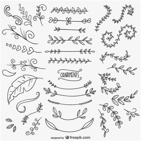 alfred doodle vector free desenhos ornamentais florais bullet doodles and journal
