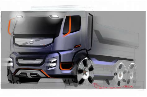 volvo truck design volvo trucks new fmx design photos machinespider com