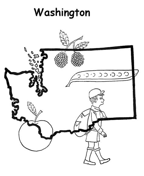 coloring page map of georgia georgia state map coloring page clipart best