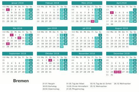 Kalender 2018 Zum Ausdrucken Bremen Kalender 2018 Bremen Excel Pdf Kalender 2016 Pdf Excel